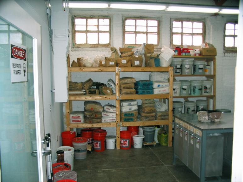 facilities  u00bb workhouse ceramics